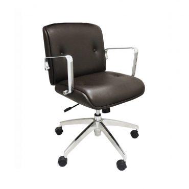 Cadeira Diretor Base Giratória Alumínio Elite Chair