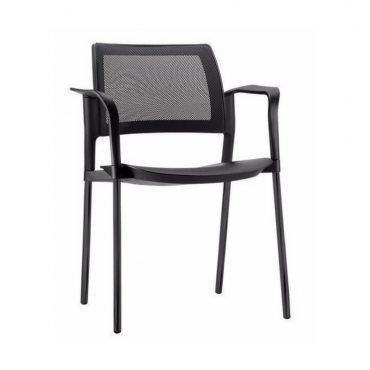 Cadeira Executiva Fixa Encosto em Tela Mesh Kyos Chair
