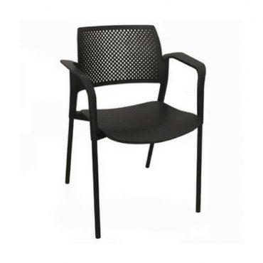 Cadeira Executiva em Polipropileno Fixa Kyos Chair