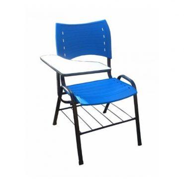 Cadeira Universitária em Polipropileno com Prancheta Iso