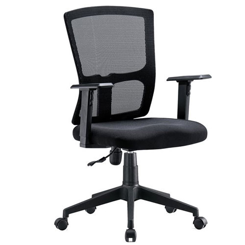 Cadeira Diretor Base Giratória Nylon Tela Mesh New Cayman