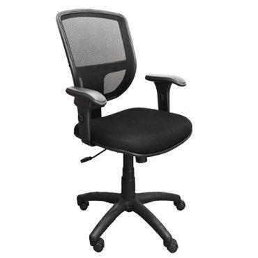 Cadeira Diretor Ergonômica Base Giratória Nylon Tela Mesh Cayman