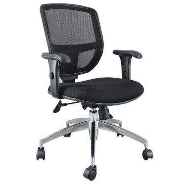 Cadeira Diretor Ergonômica Base Giratória Alumínio Tela Mesh Call Chair