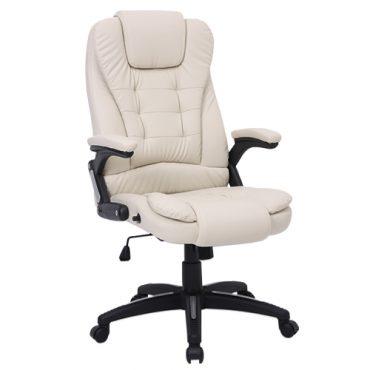 Cadeira Presidente de Massagem Base Giratória Nylon Relax Office