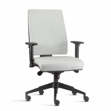 Cadeira Diretor Operativa Base Giratória Preta Corporate