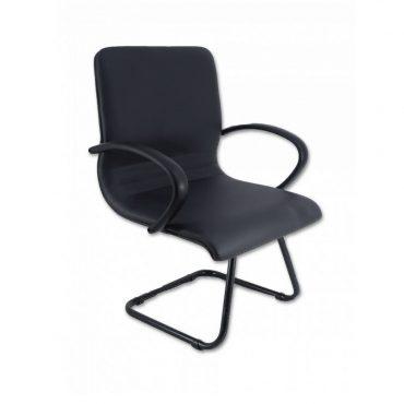 Cadeira de Escritório para Obesos Base Fixa Preta D-Maxxer