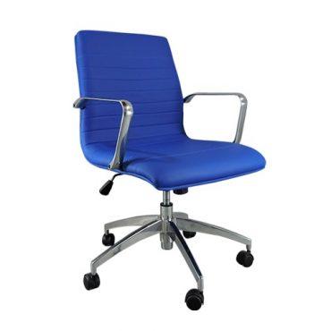 Cadeira de Escritório Diretor Base Giratória Alumínio Inspired Eames