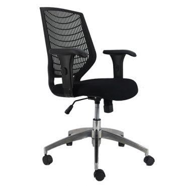 Cadeira Executiva Ergonômica Base Giratória Alumínio Delli