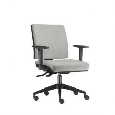 Cadeira Executiva Ergonômica Base Giratória Preta Simple Chair