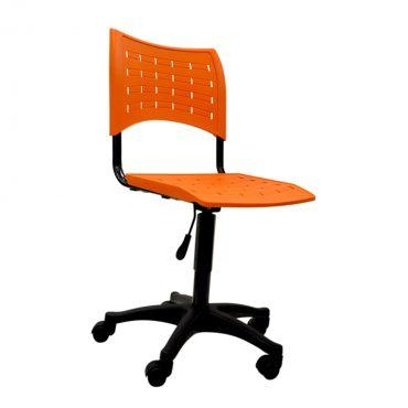 Cadeira em Polipropileno Base Giratória Preta Clifton Chair