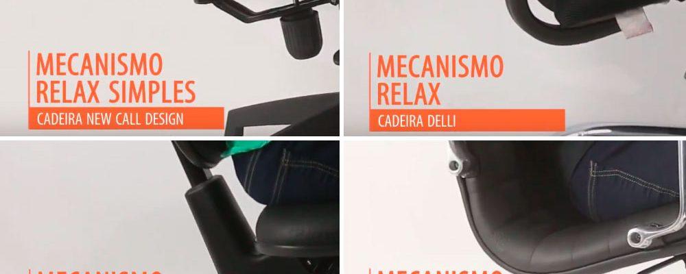 Principais Mecanismos de Cadeiras para escritório