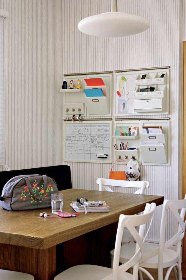 Quadro para organizar sala de reunião