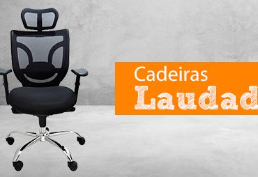Cadeiras Laudadas: conforto e ergonomia conforme a norma