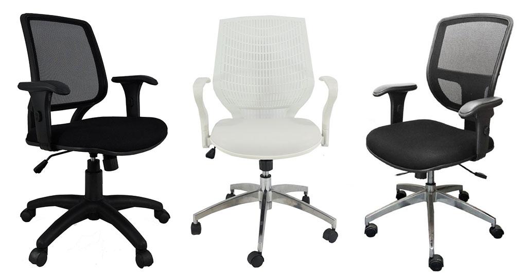 Cadeiras para escritório - Operativas