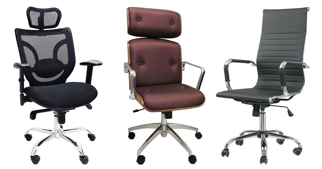 Cadeiras para escritório - Cadeiras Presidente