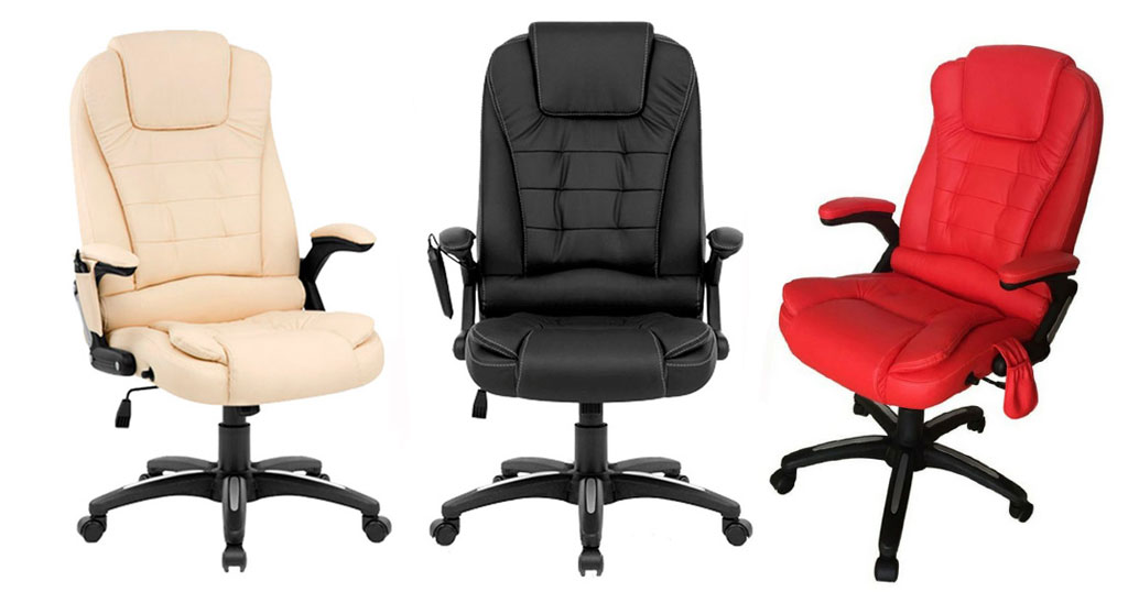 Poltrona de Massagem Relax Office - 03 opções de cores