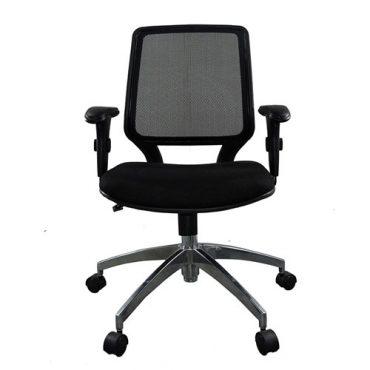 Cadeira Diretor Base Giratória Alumínio Corporate Tela
