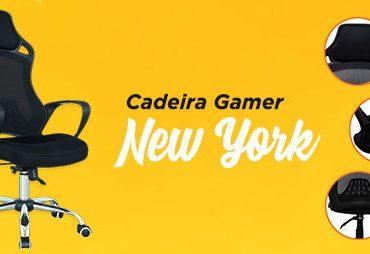 06 diferenciais da Cadeira Gamer New York
