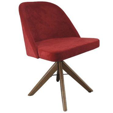 Cadeira de Jantar Base Madeira 4 pés Grace