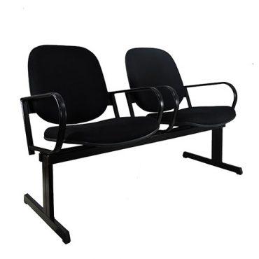 Longarina Assento Rebatível com 02 Lugares