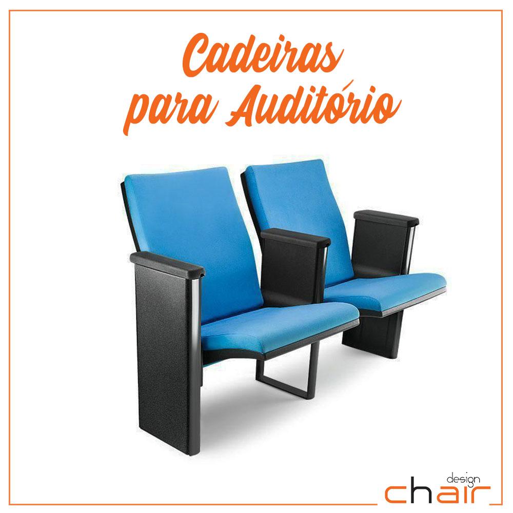 Cadeira para Auditório Plus Chair