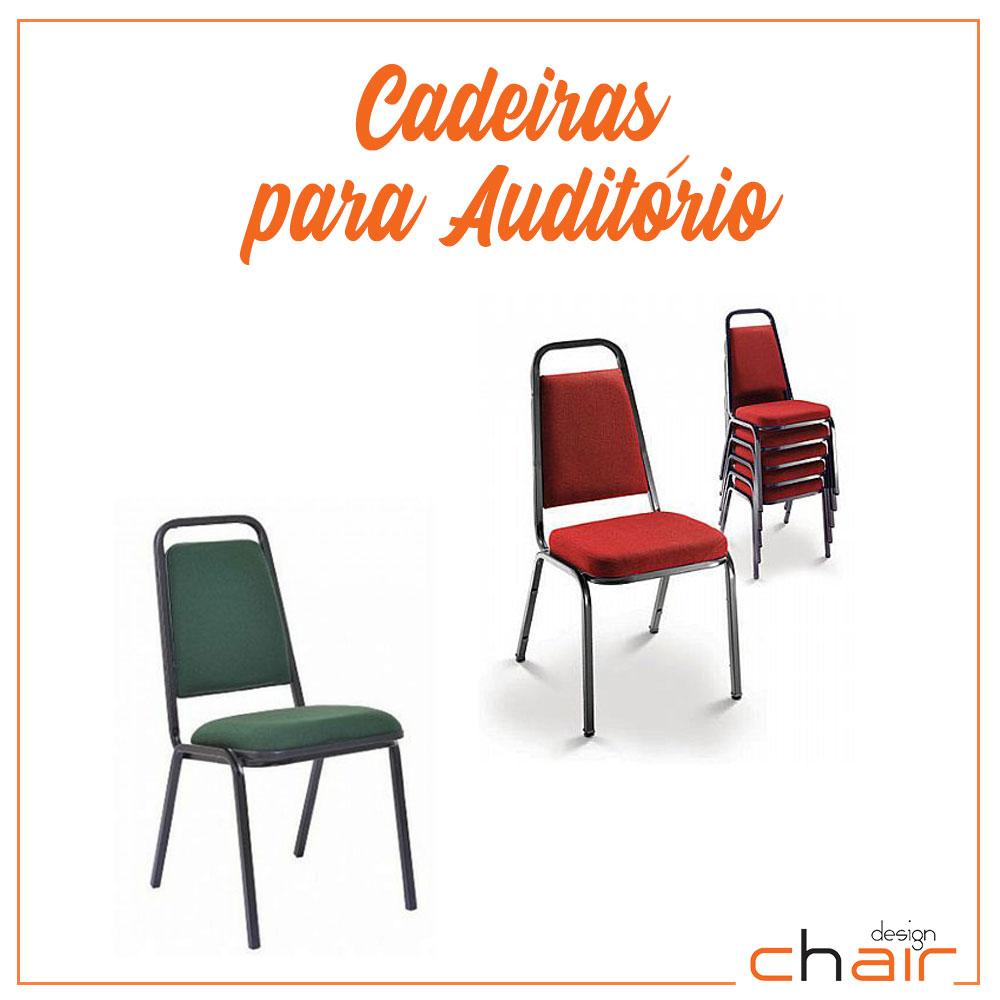 Cadeira para Auditório Empilhável