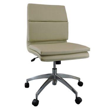 Cadeira Diretor Base Giratória Alumínio Inspired Eames Gomada