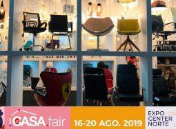 Estaremos na ABCasa Fair 2019 de Agosto.