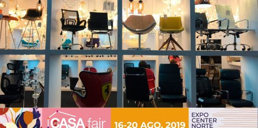 Estaremos na ABCasa Fair 2019 de Agosto.